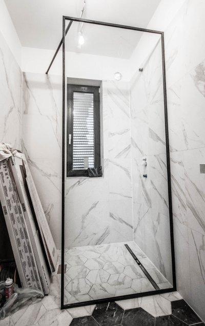 Walk-in - fürdő / WC ötlet
