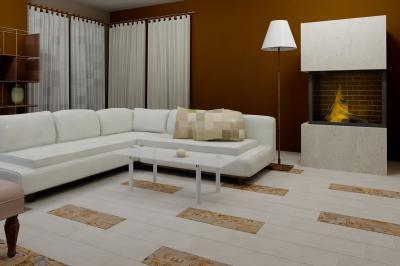 Amazonas burkolólap család1 - nappali ötlet, modern stílusban