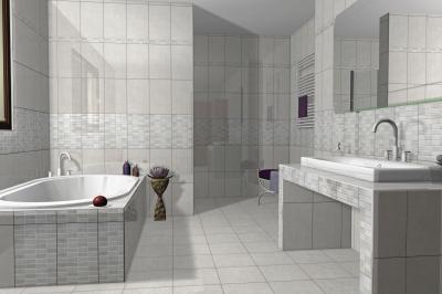 Albus burkolólap család1 - fürdő / WC ötlet, modern stílusban