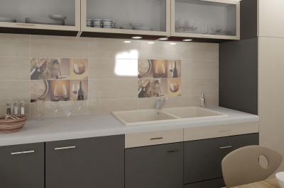 Albero burkolólap család6 - konyha / étkező ötlet, modern stílusban