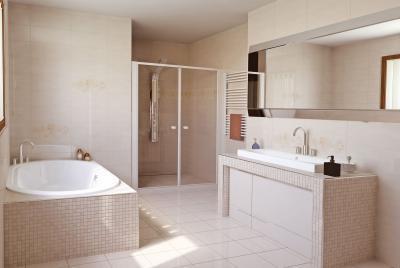Azali burkolólap család4 - fürdő / WC ötlet, modern stílusban