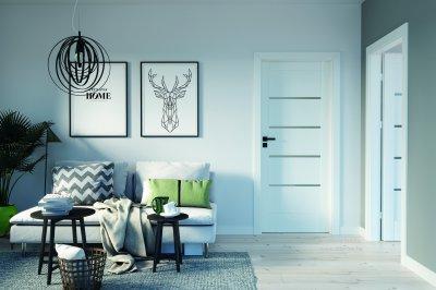 Innovatív üveges ajtók - konyha / étkező ötlet