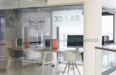 Üvegfalak - üveg térelválasztók - nappali ötlet