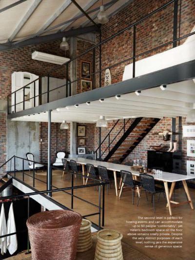 Loft14 - tetőtér ötlet, modern stílusban