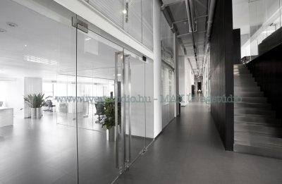 iroda üvegfal - dolgozószoba ötlet
