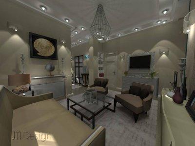 Nappali szoba - nappali ötlet, modern stílusban