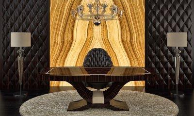 Art Deco íróasztal - konyha / étkező ötlet