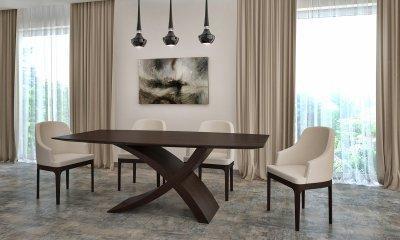 ZEG asztal, wenge - konyha / étkező ötlet