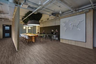 Vinyl padló az irodában - belső továbbiak ötlet, modern stílusban