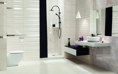 Látványos, elegáns fürdőszoba - fürdő / WC ötlet, modern stílusban