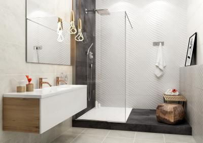 Látványos csempe variációk - fürdő / WC ötlet, modern stílusban