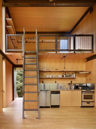 Loft42 - tetőtér ötlet, modern stílusban