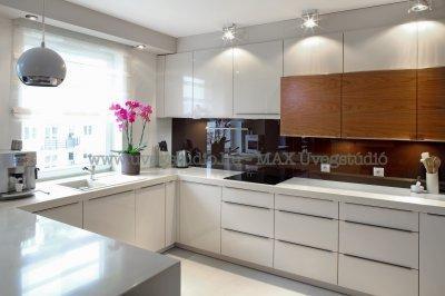 Konyha üvegfal - csempe helyett színes üveg - Konyha hátfal üvegből - konyha / étkező ötlet, modern stílusban