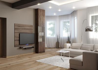 Látványos burkolatok a nappaliban - nappali ötlet, modern stílusban
