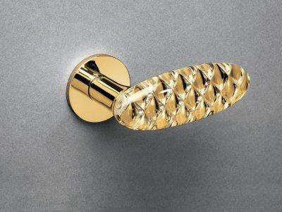 Olivari Crystal Royal körrozettás beltéri ajtó kilincsgarnitúra - konyha / étkező ötlet