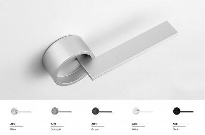 DND Timeless körrozettás beltéri ajtó kilincsgarnitúra - konyha / étkező ötlet