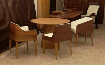 Cubus székek - dolgozószoba ötlet, modern stílusban