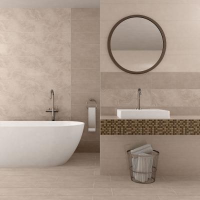 Mozaikcsempe díszcsík - fürdő / WC ötlet, modern stílusban