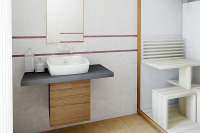 Minimál dekor a minimál fürdőben - fürdő / WC ötlet, minimál stílusban
