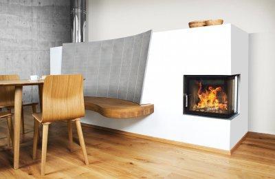 HOXTER ECKA 50/35/45 sarokkandalló ülőpaddal - konyha / étkező ötlet, modern stílusban