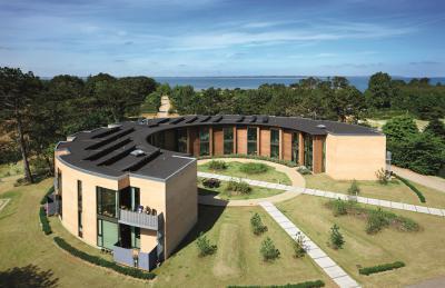 BMI Villas lapostetőrendszer  - tető ötlet, modern stílusban