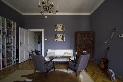 Belvárosi eklektika Sopron 2013 - nappali ötlet