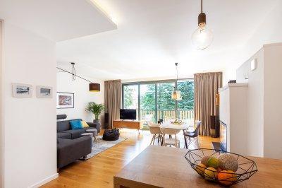Családi ház 2017 - nappali ötlet, modern stílusban