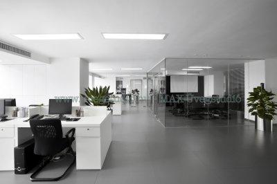 Irodai üvegfal - üveg tárgyaló - dolgozószoba ötlet, modern stílusban