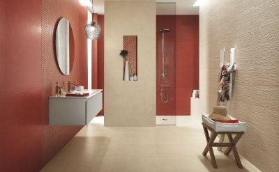 FAP Ceramiche Color Line - Csempepont - fürdő / WC ötlet, modern stílusban