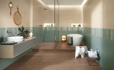 FAP Ceramiche Color Line - Csempepont - fürdő / WC ötlet
