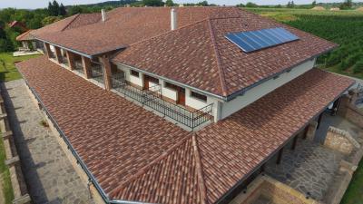 Mediterrán stílusú tető - tető ötlet, mediterrán stílusban
