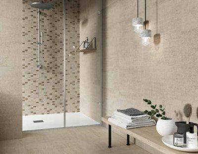Csempepont - DOM Tweed - fürdő / WC ötlet, modern stílusban