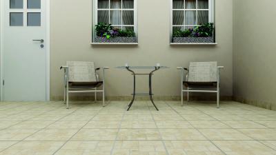 Világos teraszburkolat - erkély / terasz ötlet, modern stílusban