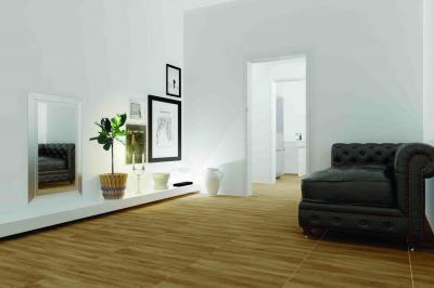 Fahatású padlólapok a nappaliban - nappali ötlet, klasszikus stílusban