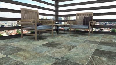 Különleges teraszburkolat - erkély / terasz ötlet, egzotikus stílusban