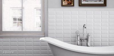 Csempepont - Equipe Metro - fürdő / WC ötlet, modern stílusban