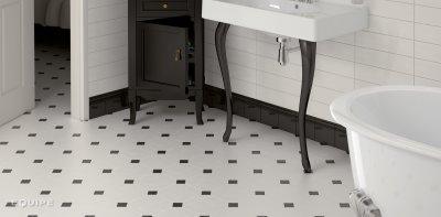 Csempepont - Equipe Octagon - fürdő / WC ötlet, klasszikus stílusban