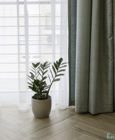 Halszálka mintás padló a szoba éke - nappali ötlet, modern stílusban