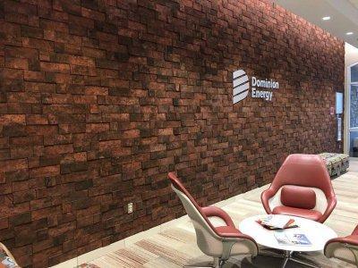 3D Falpanel - téglamintás - Cork Bricks - bejárat ötlet