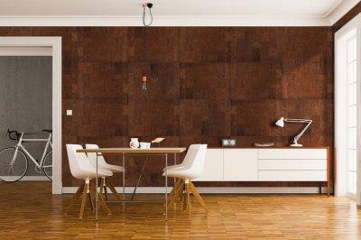 Modern parafa falburkolat - Primecork - dolgozószoba ötlet, modern stílusban