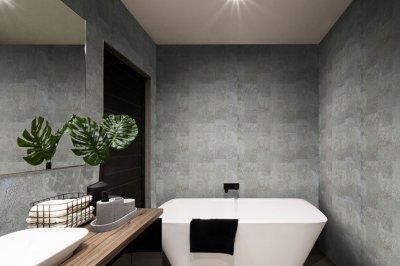 Natural parafa falburkolat - Primecork - fürdő / WC ötlet, modern stílusban