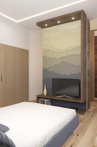 Modern lakóház hálószobája - háló ötlet, modern stílusban