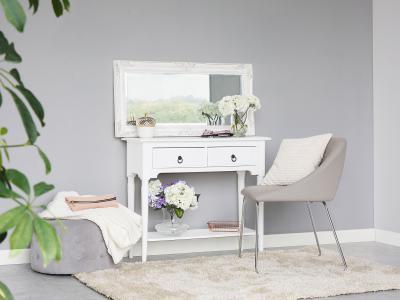 Vintage asztal fiókokkal - nappali ötlet, klasszikus stílusban