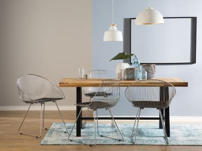 Masszív étkezőasztal - konyha / étkező ötlet, modern stílusban