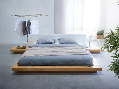 Japán stílusú ágy - háló ötlet, minimál stílusban