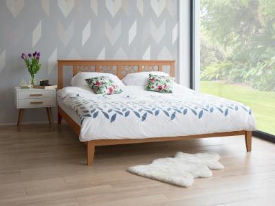 Paplan kétszemélyes ágyra - háló ötlet, modern stílusban