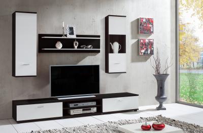 Alacsony tévé szekrény - nappali ötlet, modern stílusban