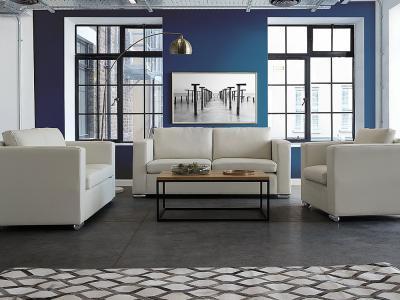 Elegáns ülőgarnitúra - nappali ötlet, modern stílusban