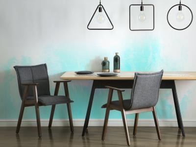 Különleges mennyezeti lámpa - konyha / étkező ötlet, modern stílusban