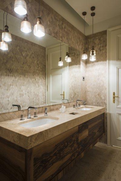 Klasszikus stílus - fürdő / WC ötlet, klasszikus stílusban